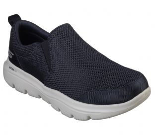Skechers Mens 54738 NVGY Navy Go Walk Evo Ultra Impeccable Slip-On Trainers
